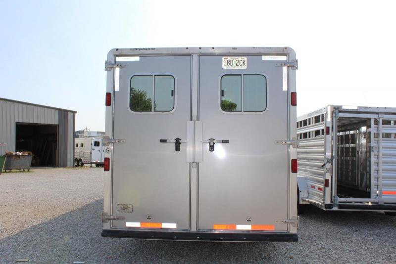 2012 Featherlite 4 w/11' LQ and 4' Mid Tack Horse Trailer