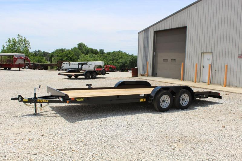 2020 Big Tex Trailers 70CH-20BKDT Car / Racing Trailer