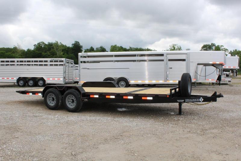 2020 Diamond T Trailers 8320SKP140-6 Equipment Trailer