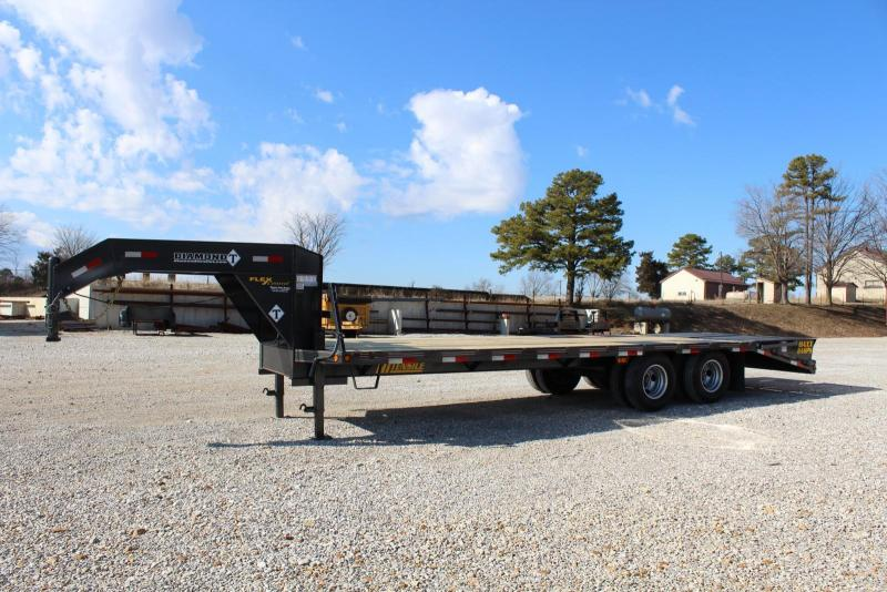 2020 Diamond T Trailers DTF10225 Flatbed Trailer
