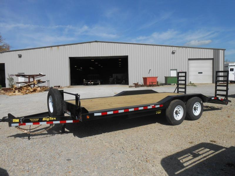 2017 Big Tex Trailers 14DF-20BK Equipment Trailer