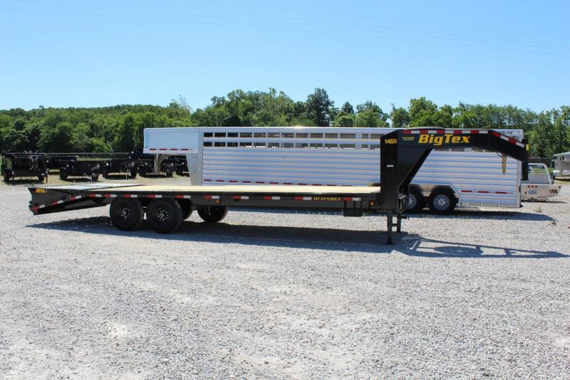 2020 Big Tex Trailers 14GN-20+5 Flatbed Trailer