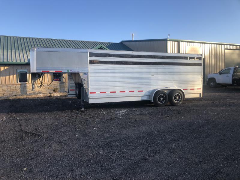 2015 EBY Maverick Livestock Trailer in  Hackett, AR
