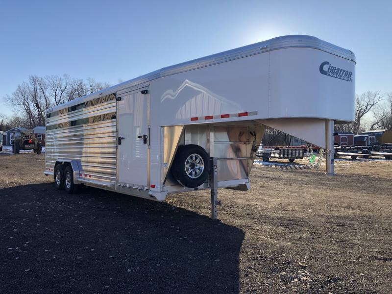 2020 Cimarron Trailers Lonestar 24' Stock Livestock Trailer