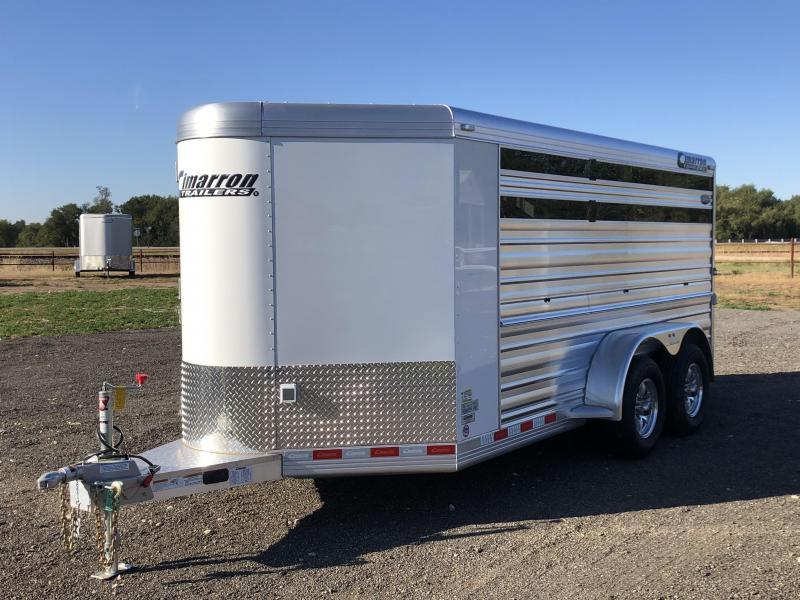 2020 Cimarron Trailers 166 Livestock Trailer