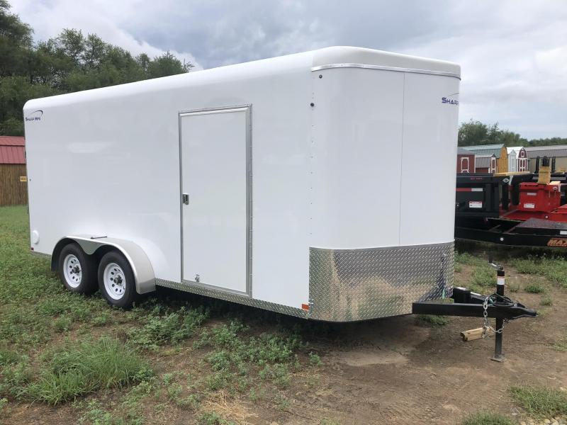 2020 Sharp 7x16 Enclosed Cargo Trailer