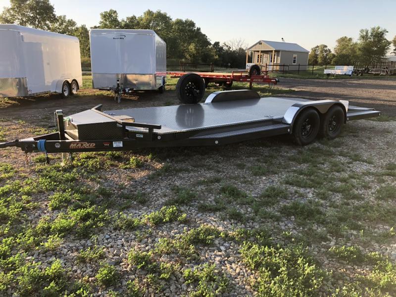"2019 MAXXD 20'X83"" 5"" Tubing Car / Racing Trailer"
