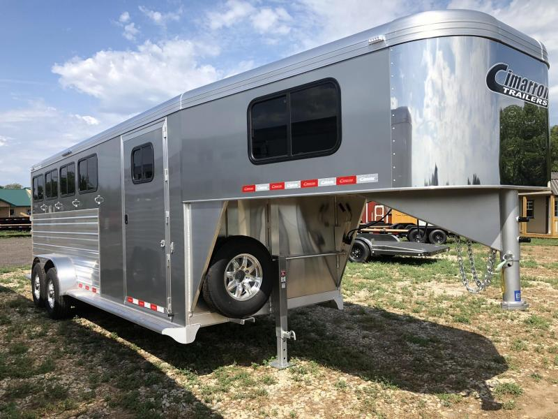 2020 Cimarron Trailers Norstar 4 Horse Gooseneck W/Ready to go package Horse Trailer
