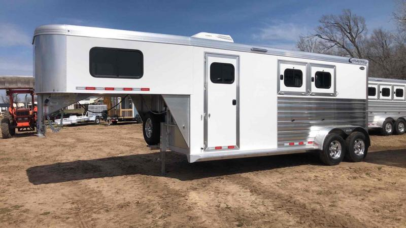 2020 Cimarron Trailers Two Horse Norstar Slant Horse Trailer