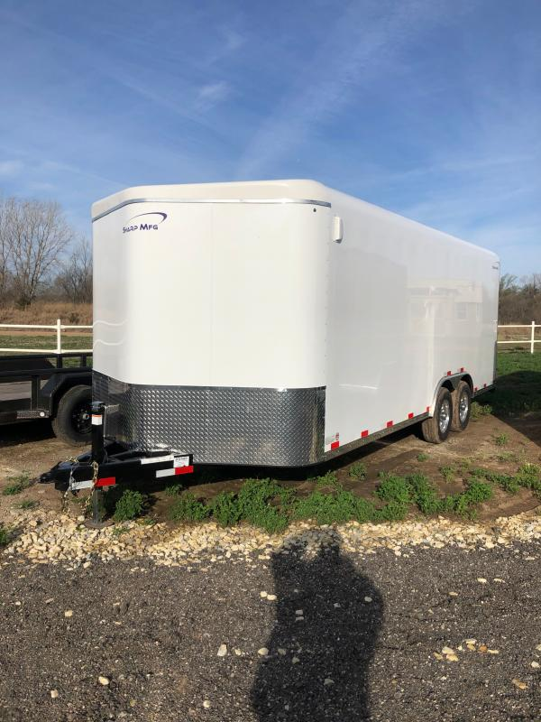 2020 Sharp 101X20 Enclosed Cargo Trailer