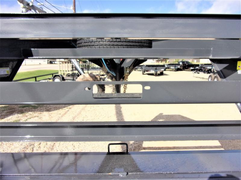 "2020 LAMAR 102"" X 34' HD GOOSENECK LOWBOY / CAR HAULER GVWR 14K"