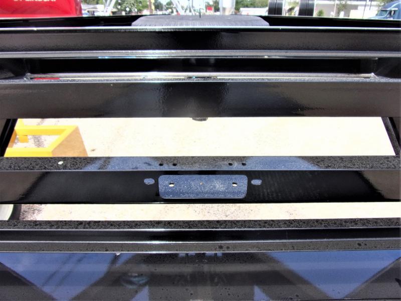 "2020 LAMAR 102"" X 38' HD GOOSENECK LOWBOY / CAR HAULER GVWR 14K"