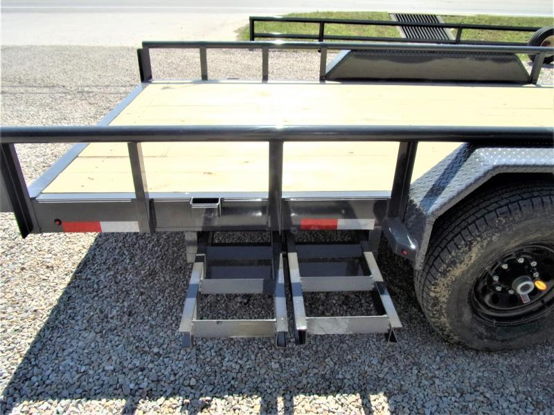 2020 Lamar Trailers 83 X 20 XD Utility Trailer GVWR 14000