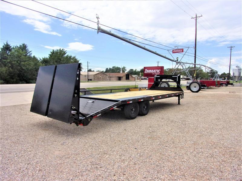 "2019 Lamar 102"" X 25' Gooseneck Low Pro Deck Over GVWR 14K"
