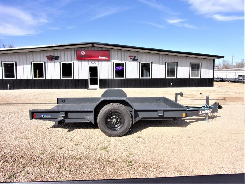 2020 Lamar Trailers 79x12 Scissor Lift Tilt Trailer GVWR 7K