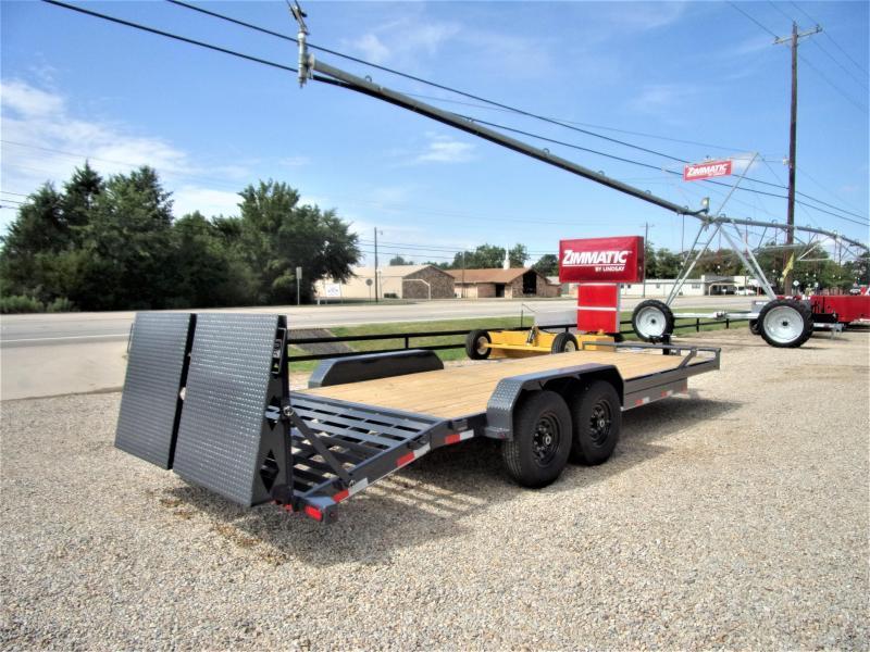 "2020 Lamar 83"" X 22' Bumper Pull Equipment Hauler GVWR 14K"