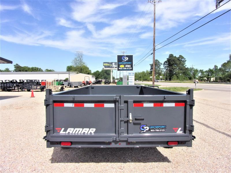 2020 Lamar Trailers 83 x 14' Low Pro Dump Trailer GVWR 14K