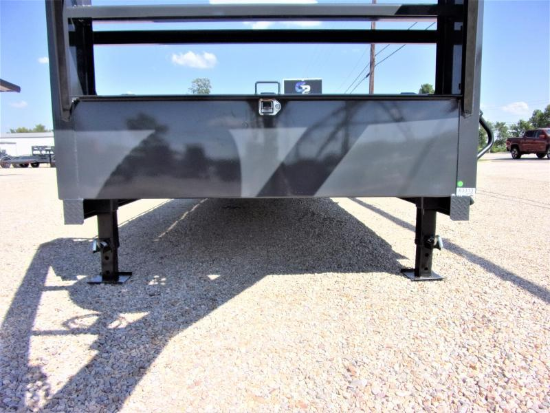 "2020 LAMAR 102"" X 40' HD GOOSENECK LOWBOY / CAR HAULER GVWR 14K"