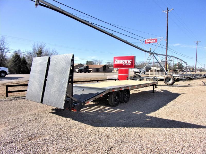 2020 Lamar Trailers 102 X 24 BP Deck-Over Flatbed GVWR 14K