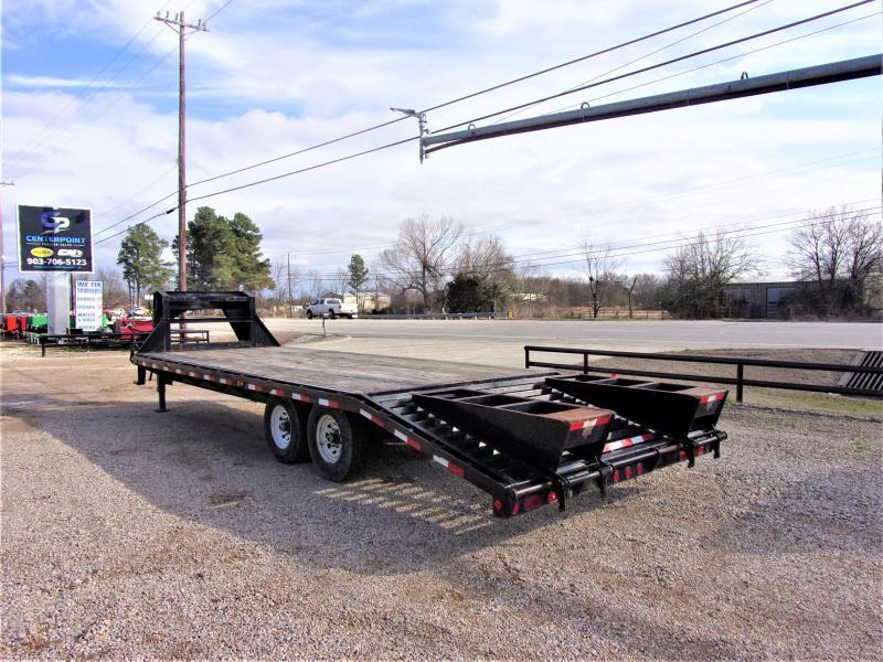 "2012 PJ 102"" X 25' Gooseneck Deck Over"