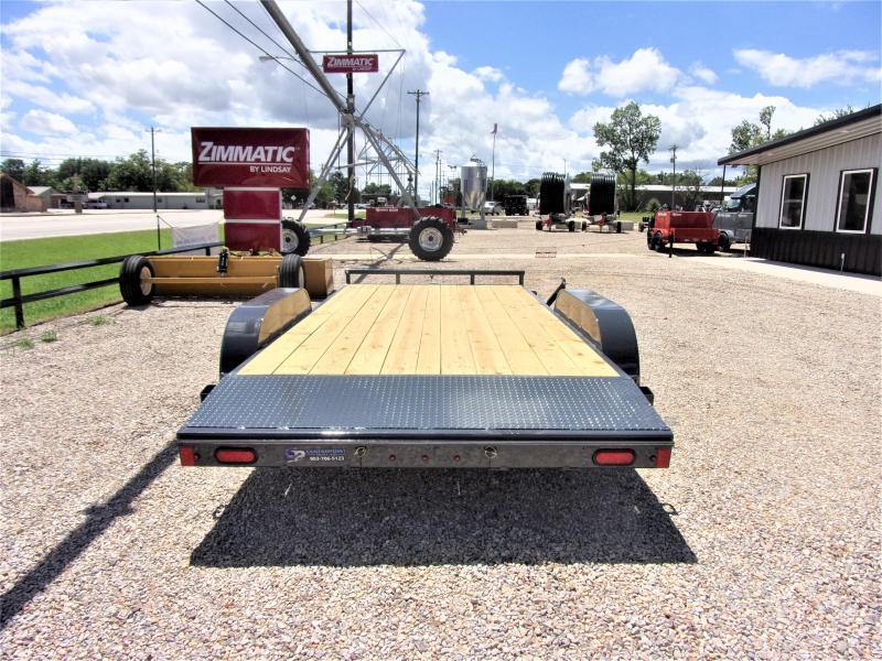 2020 Lamar Trailers 83''x16 Bumper Pull Econo Car Hauler GVWR 7K