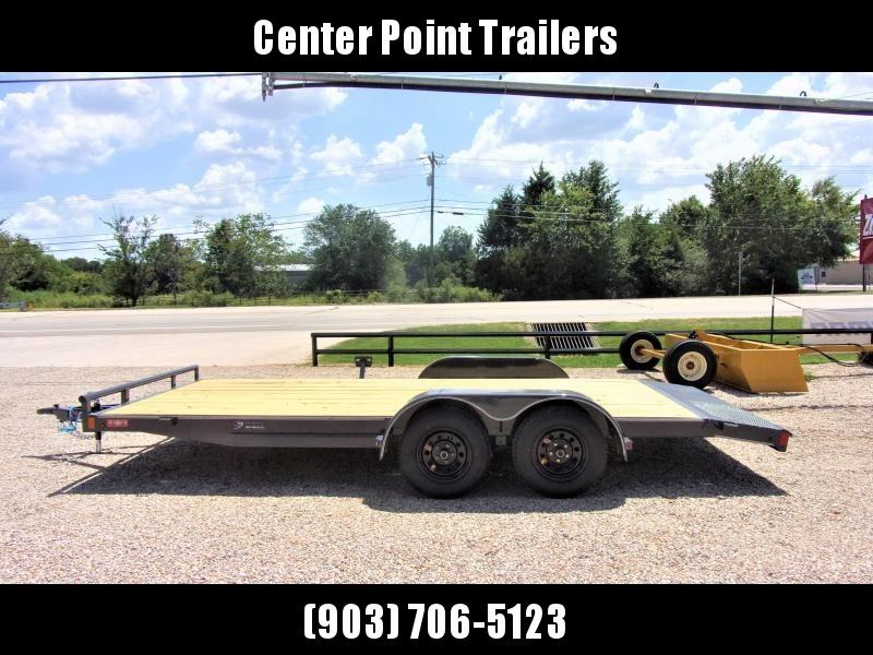 2020 Lamar Trailers 83''x18 Bumper Pull Econo Car Hauler GVWR 7K