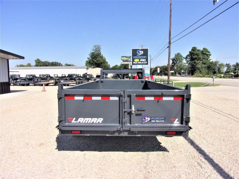 2020 Lamar Trailers 83 x 16 Low Pro Gooseneck Dump Trailer GVWR 14K