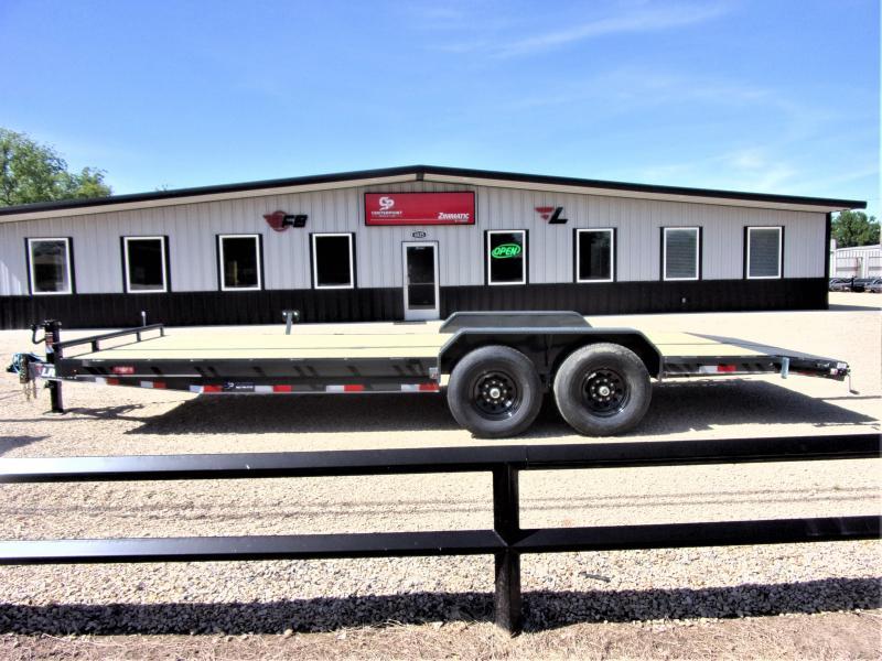 "2020 Lamar Trailers 83"" X 22' Bumper Pull Equipment Hauler GVWR 14K"