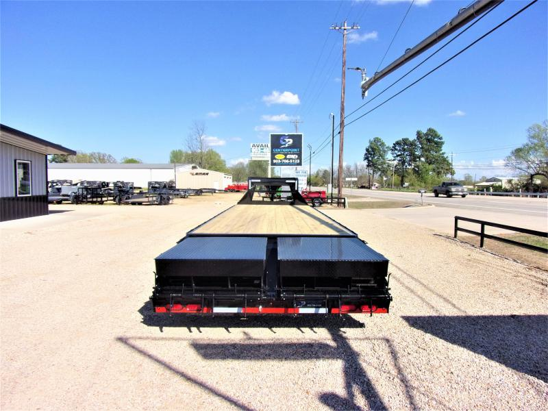 "2020 Lamar 102"" X 30' Gooseneck Deck Over GVWR 14K"