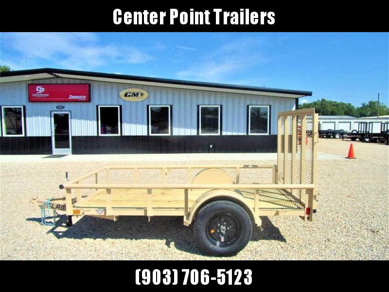 2019 Lamar Trailer 60 x 10 Single Axle Utility GVWR 2995
