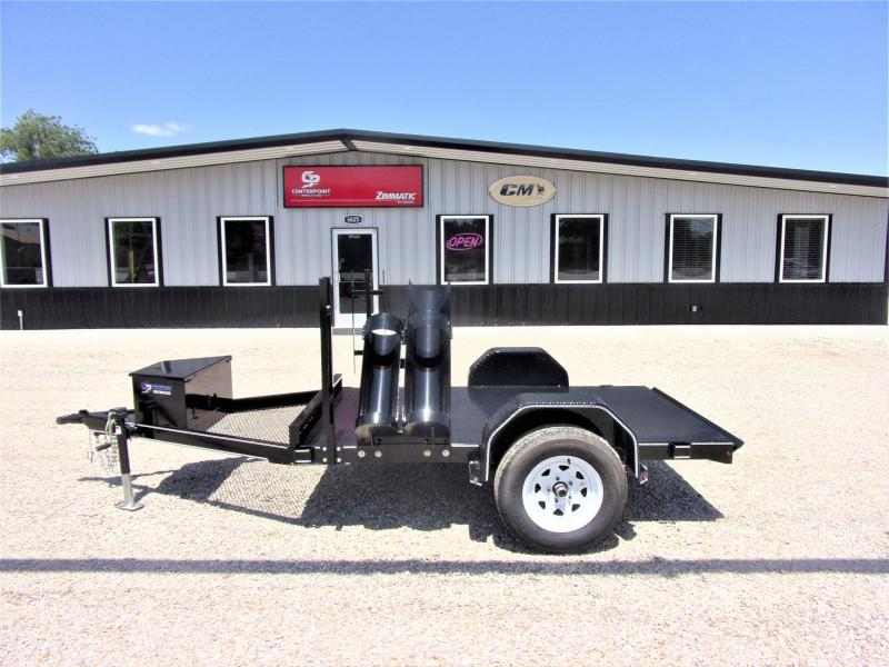 """2019 Farm Boss 60"""" X 8' Single Axle Welding Trailer GVWR 3K"""