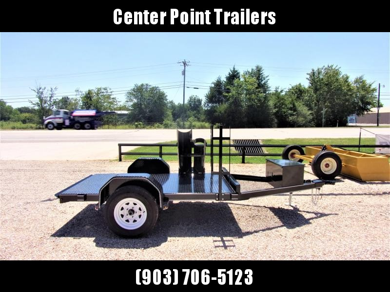 "2019 Farm Boss 60"" X 8' Single Axle Welding Trailer GVWR 3K"