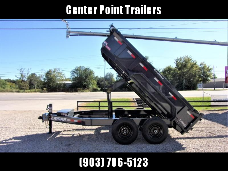 2020 Lamar Trailers 83 x 12' Low Pro Dump Trailer GVWR 14K