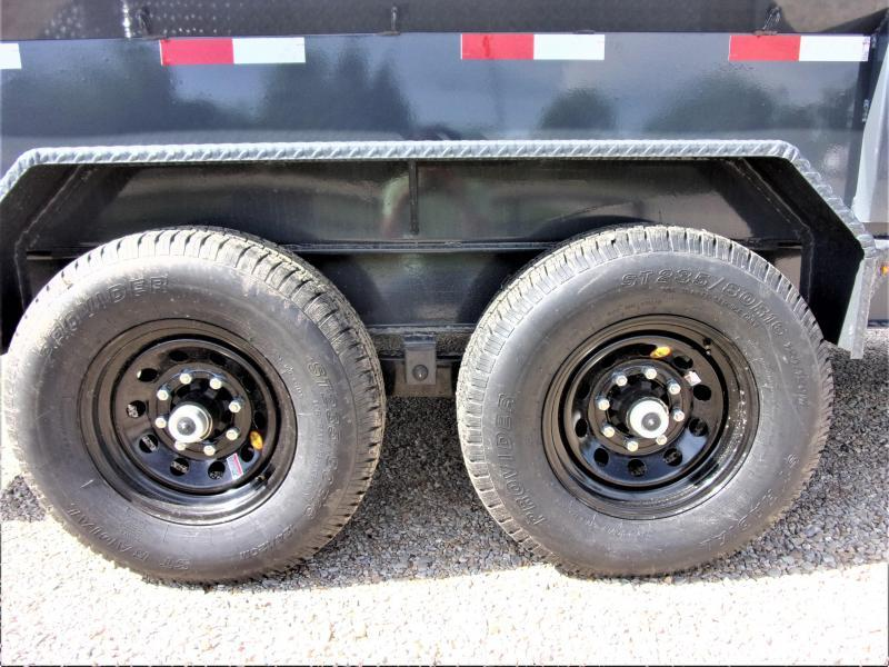 2020 Lamar Trailers 83 x 14' Low Pro Dump Trailer GVWR 14K