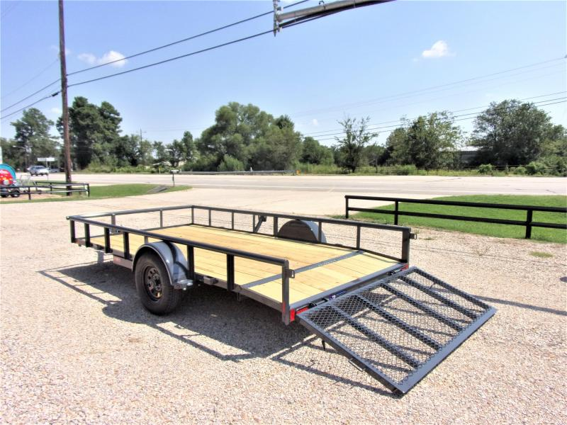 2020 Lamar Trailers 83x14 Single Axle Utility GVWR 2990 Utility Trailer