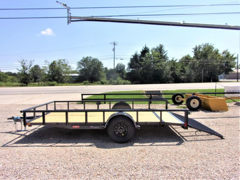 2020 Lamar Trailers 83x14 Single Axle Utility GVWR 2995 Utility Trailer