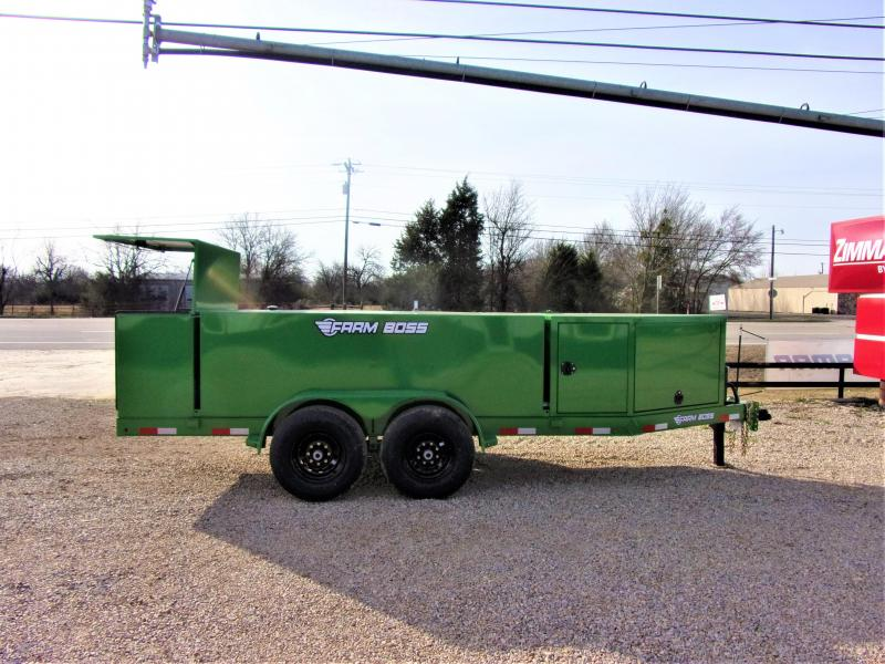 2020 Farm Boss FB990 Tank Trailer 990 Gal GVWR 14K