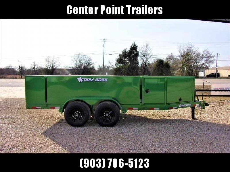 2020 Farm Boss FB990 Tank Trailer 990 Gal GVWR 14K