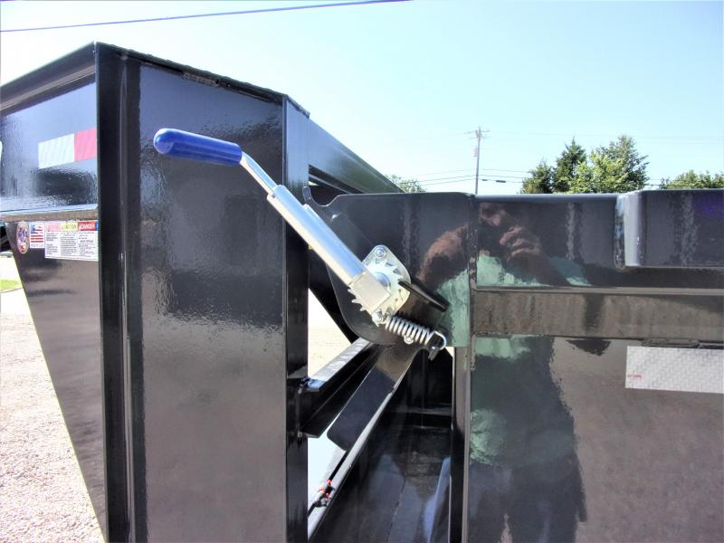 2019 Lamar Trailers 83 x 14 Low Pro Gooseneck Dump Trailer GVWR 14K