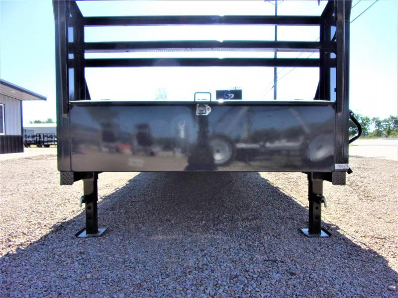 "2020 LAMAR 102"" X 26' HD GOOSENECK LOWBOY / CAR HAULER GVWR 14K"