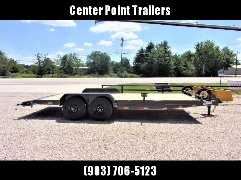 "2020 Lamar Trailers 83"" X 20' Bumper Pull Equipment Hauler GVWR 14K"