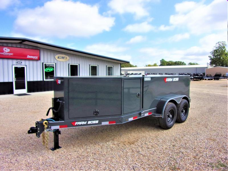 2020 Farm Boss 990 Gal Tank Trailer GVWR 14K