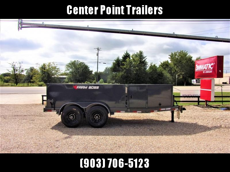 2019 Farm Boss 990 Gal Tank Trailer GVWR 14K