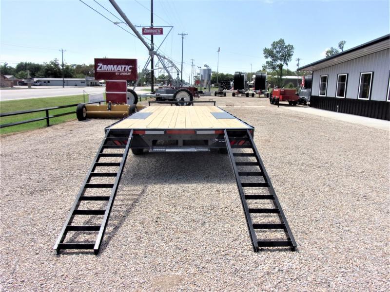 2020 Lamar Trailers 102 X 20 BP Deck-Over Flatbed GVWR 14K