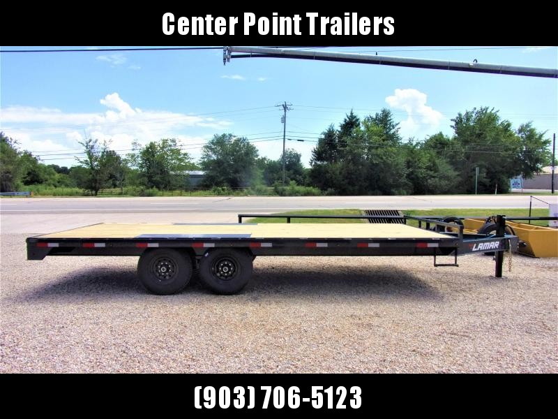 "2020 Lamar Trailers 102"" X 20' BP Deck-Over Flatbed GVWR 14K"