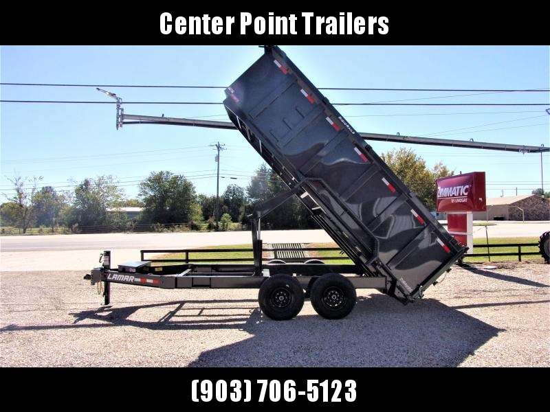 2020 Lamar Trailers 83 x 16' Low Pro Dump Trailer GVWR 14K