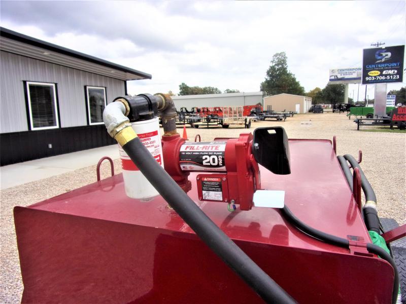 2019 300 gal Tank Trailer GVWR 5K