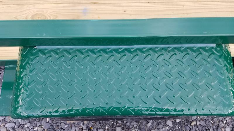 6 x 12 Sure-Trac Tube Top Utility 3k Green