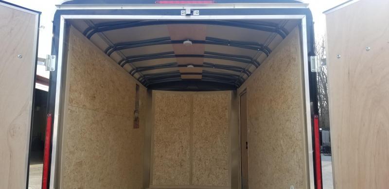 6 x 12 Look Vision Enclosed Cargo Trailer 7k