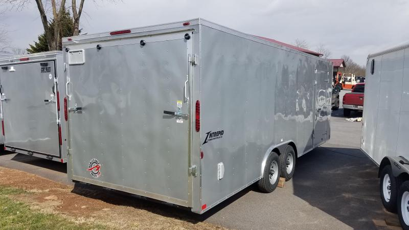 8.5 x 22 Homesteader Intrepid V-Nose Car Hauler 10k